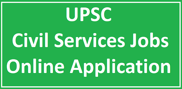 UPSC Civils Prelims Online Application Notification