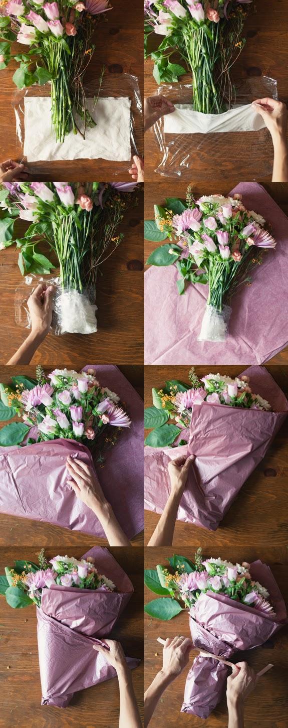 Kağıttan Çiçek Buketi Yapımı Resimli Anlatımı