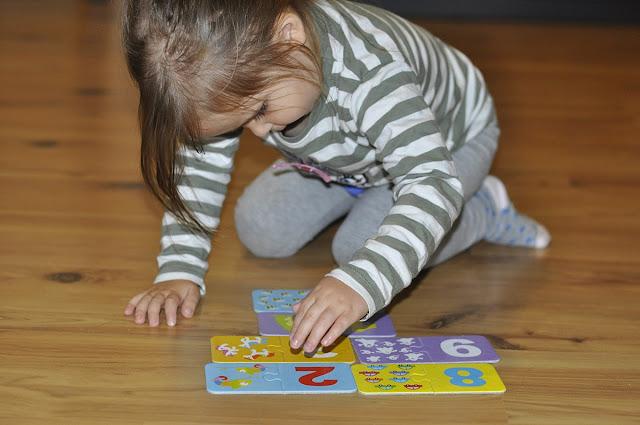 czuczu cyfry, cyferki puzzle dla malucha