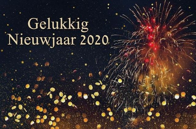 Nieuwjaar 2020 Afbeeldingen - Gelukkig Nieuwjaar 2020