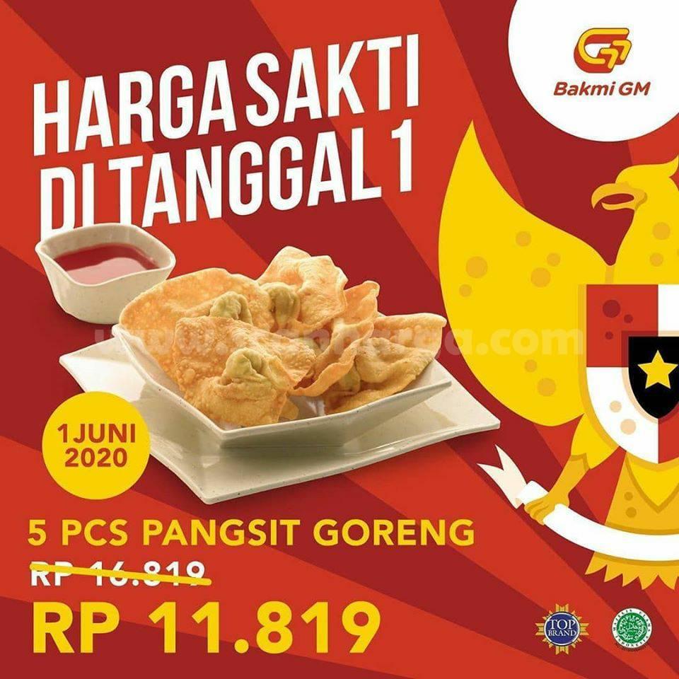 Promo Bakmi GM Harga Sakti 5 PCS Pangsit Goreng Hanya Rp 11.819!