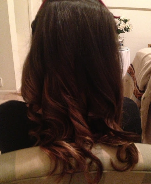 how to curl your hair using a ghd
