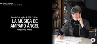 La música de Amparo Ángel (Colombia)