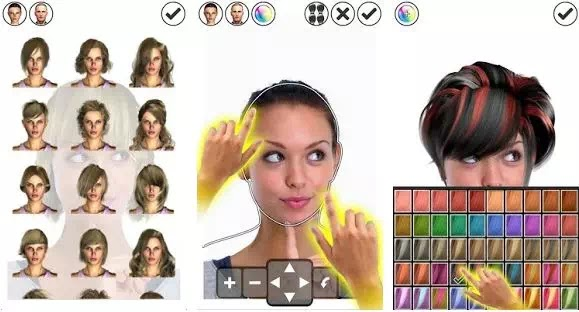 Aplikasi Gaya Rambut Terbaik untuk Pria dan Wanita-3