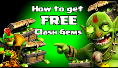 Clash of clans free gems