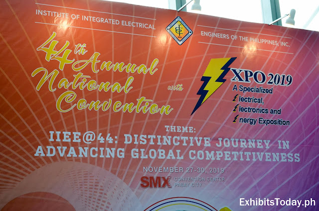 The 44th IIEE Annual Convention with 3 Expo 2019