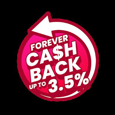 PG Mall, Pulangan Tunai, Forever Cashback,