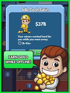 Download Idle Miner Tycoon Apk v1.20.1 Mod Money Terbaru