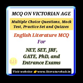 MCQ ON VICTORIAN AGE