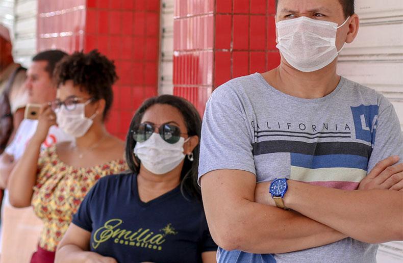 Uso de máscaras será obrigatório em Escada a partir de domingo (17)