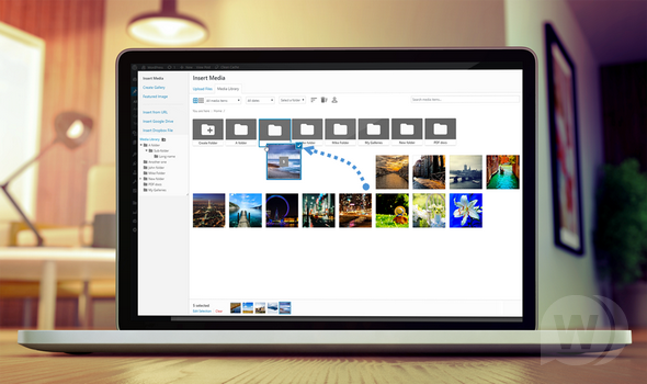 WP Media Folder plugin–WordPress File Manager