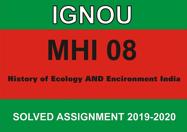 MHI 08 Solved assignment 2020-21