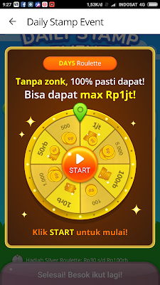 Misi Daily Stamp Event