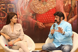 Shriya Saran Nandamuri Balakrishna at Gautamiputra Satakarni Team Press Meet Stills  0168.JPG