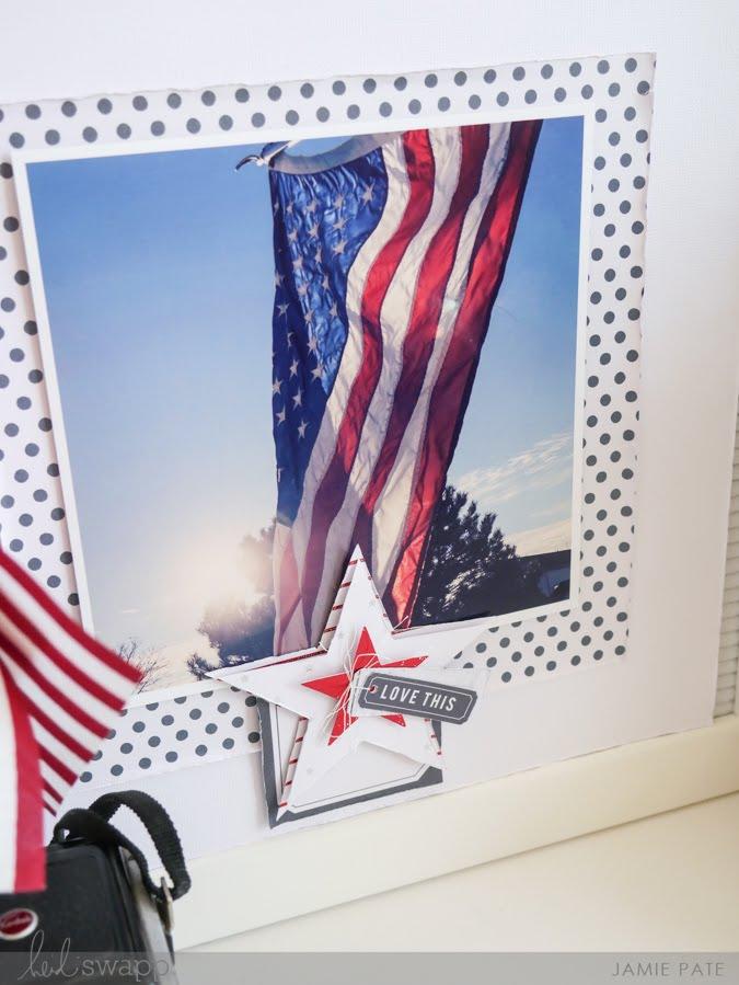 Patriot Summer Celebrations with Heidi Swapp Letterboard and Minc by Jamie Pate   @jamiepate for @heidiswapp