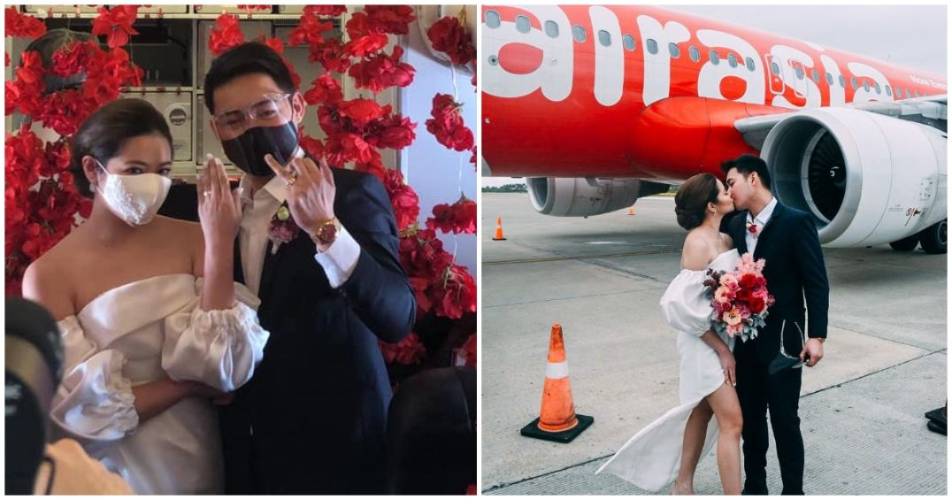 Couple gets married on plane bound for Boracay
