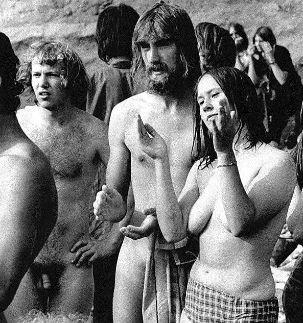 Naked hippie pictures woodstock