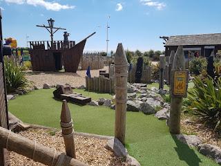 Pirate Cove Adventure Golf in Aberavon, Port Talbot