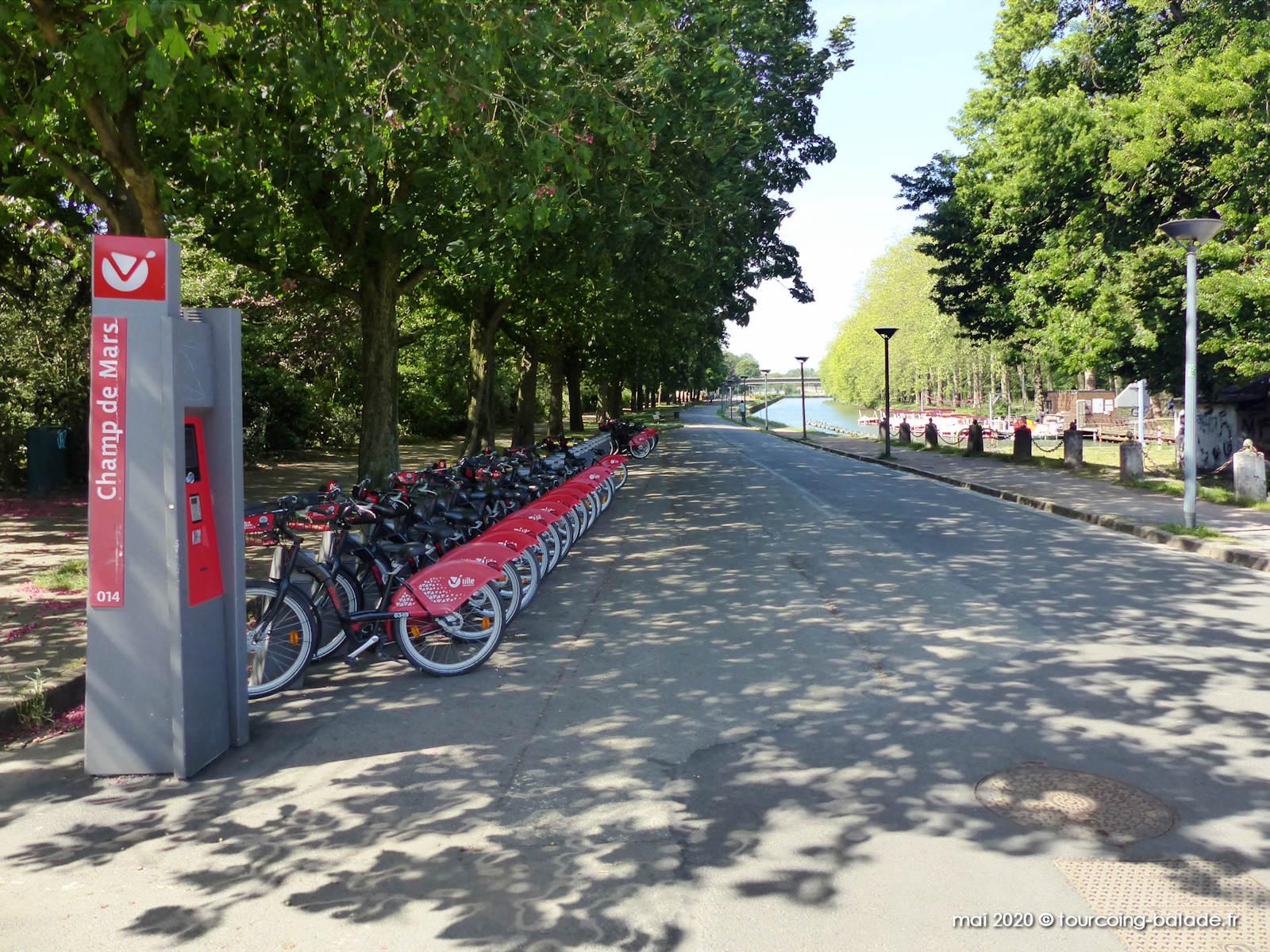 Station V'Lille Champs de Mars, Lille 2020