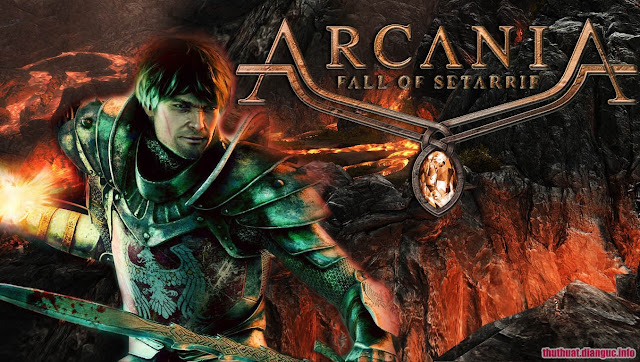 Action role-playing game download Fall of Setariff ArcaniA - FLT full crack
