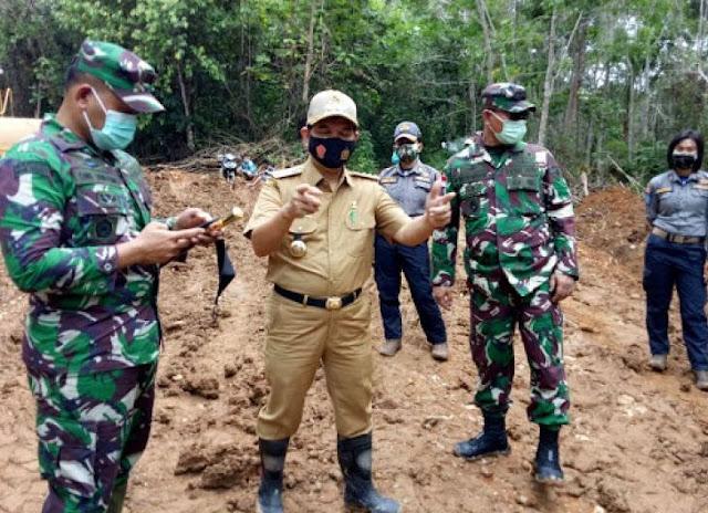 Kapendam XII/Tpr Sebut Hasil TMMD ke-109, Wujud Kemanunggalan TNI- Rakyat