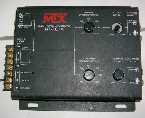 Soundiego: MTX RT-X01A Electronic Crossover -$39