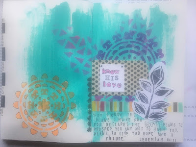 Art Journal Challenge: Only things not on the desk