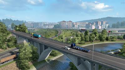 Euro Truck Simulator 2 versi 1.40.3.34s DLC Iberia Gratis.