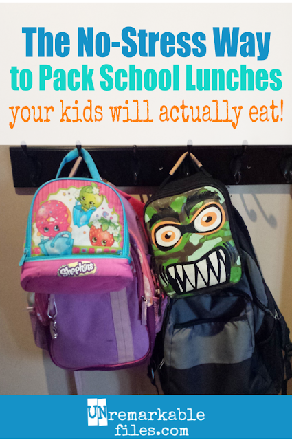 This easy method for packing school lunches will transform your weekday mornings. With a little make-ahead prep, your kids (including your picky eaters) will fill up on a healthy lunch made at home. These school lunch ideas for kids work with any age, from preschool to elementary to teen. #lunchideas #easy #healthy #pickyeaters #backtoschool #parentinghacks