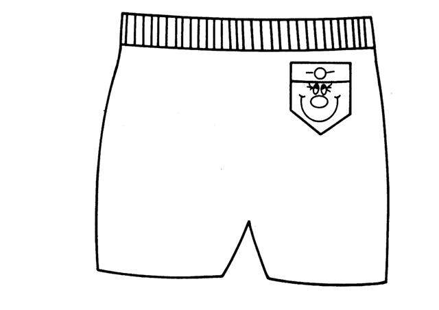 Cuentos Infantiles Cortos Para Colorear E Imprimir Imagui: Un Pantalon Corto Para Pintar