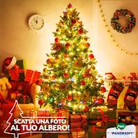 Logo Pam Panorama: vinci gratis le ceste di Natale ''I Tesori''