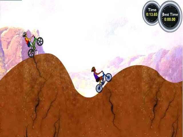 لعبة الدراجة