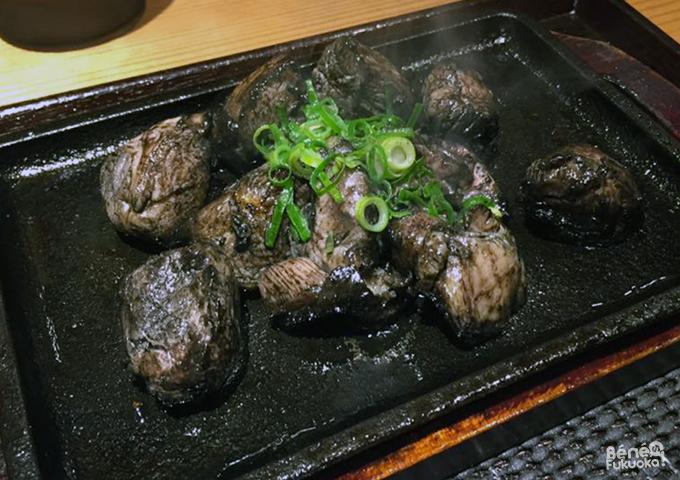 Sumibiyaki, cuisine de Miyazaki