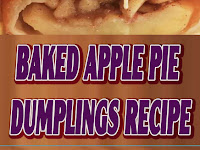 Baked Apple Pie Dumplings Recipe