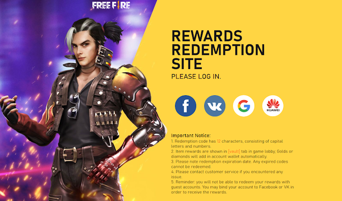 Free Fire Redeem Code Today India, Brazil, Indonesia, Bangladesh 2020