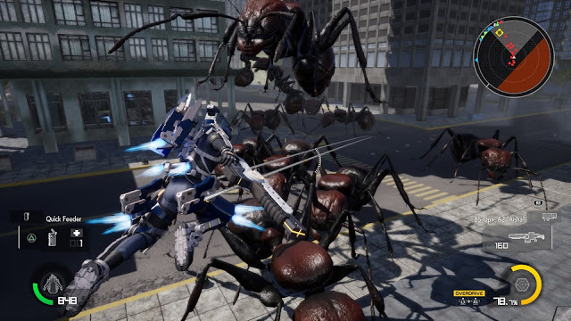 EARTH DEFENSE FORCE IRON RAIN PC Full imagenes