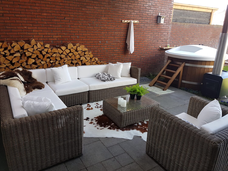Standaard Kussens Loungeset.Arbrini Design Tuinmeubelen
