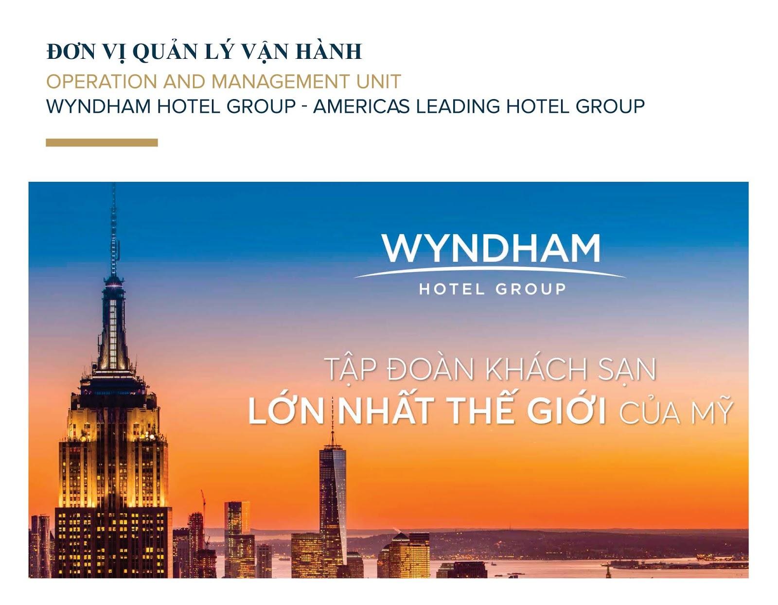 Đơn vị nào quản lý và vận hành Wyndham Lynn Times Thanh Thủy?