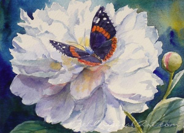 Zeh Original Art Blog Watercolor and Oil Paintings: White ...