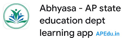 Abhyasa - AP state education dept learning app updated version 2.0.