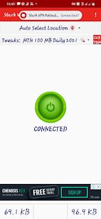 MTN 100MB Stark VPN Settings 2021