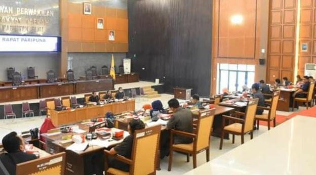 Paripurna DPRD Bahas Laporan Pansus Soal Rekomendasi LKPJ Bupati
