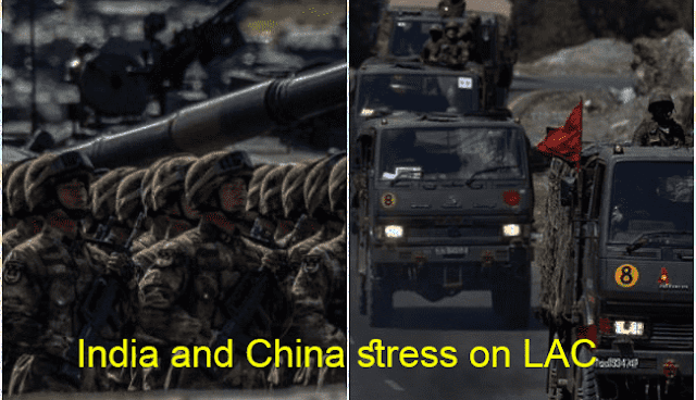 India and China stress on LAC. What is happening between India and China
