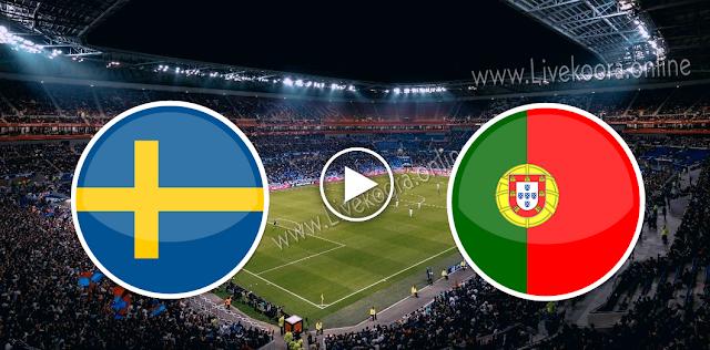 موعد مباراة السويد والبرتغال بث مباشر بتاريخ 08-09-2020 دوري الأمم الأوروبية