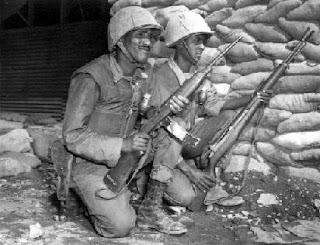 Ethiopian soldiers in Korea
