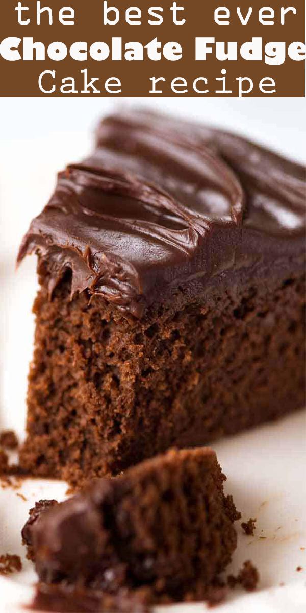 Chocolate Fudge Cake #Chocolate #Fudge #Cake #. #chocolate #cake #chocolatecake #recipe #best #easy #onebowl #ChocolateFudgeCake