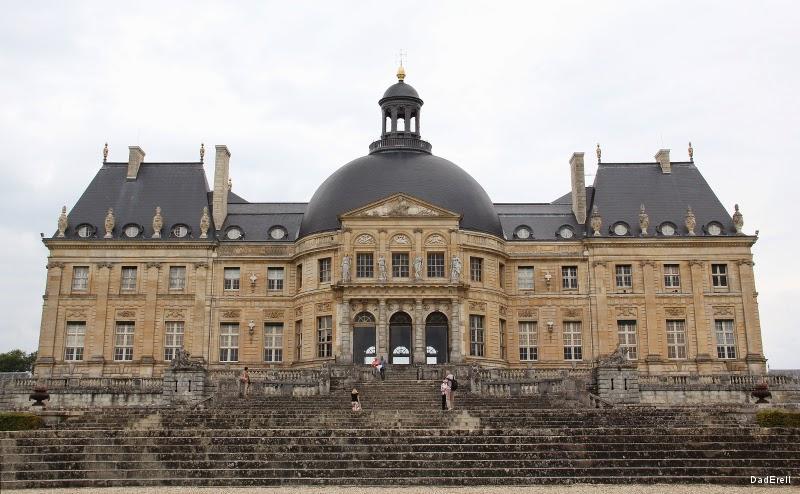Château de Vaux le Vicomte côté jardin