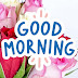 Good Morning Message with Flowers Images