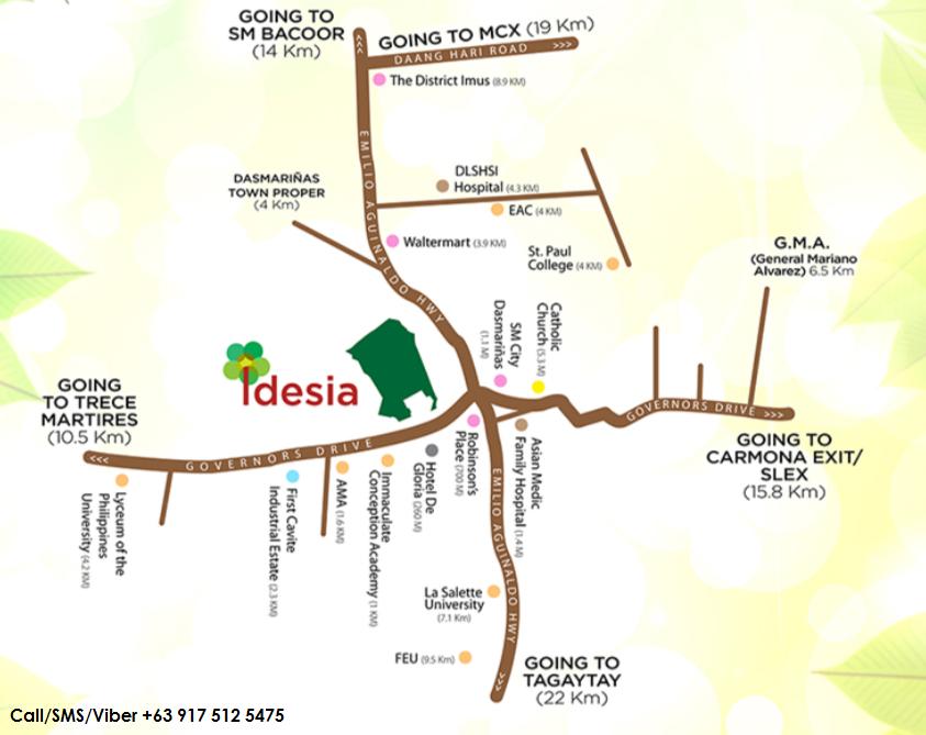 Idesia Dasmarinas photos of Vicinity Map