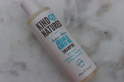 kind natured Argan and kukui oil shampoo review